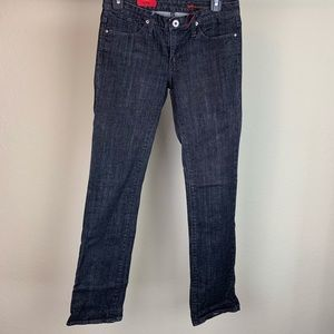 Adriano Goldschmied straight leg jeans, size 26R